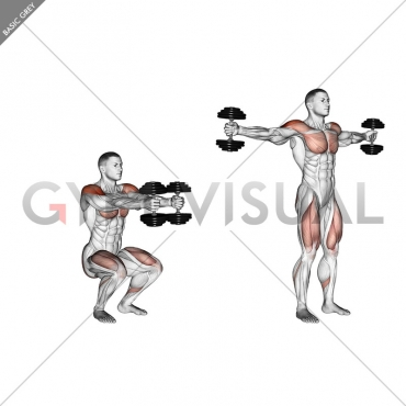 Dumbbell Iron Cross