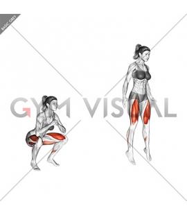 Jump Squat (female)