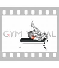Lying leg hip raise