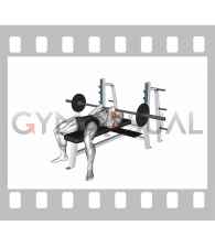 Barbell Reverse Close-grip Bench Pres