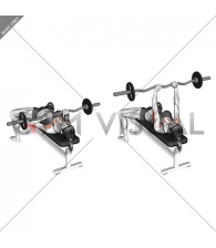 EZ-bar Close-Grip Bench Press (female)