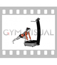 Vibrate Plate Plank (female)