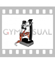 Vibrate Plate Lunge (female)