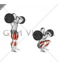StrongMan Front Chest Squat