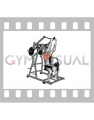 Lever Reverse grip Lateral Pulldown (plate loaded)