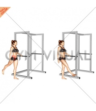 Back Forward Leg Swings (female)