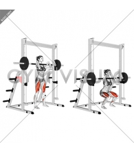 Smith Front Squat (Clean Grip) (female)