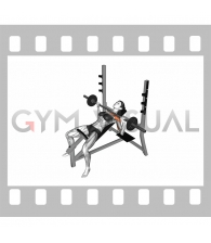 Barbell Incline Bench Press (female)