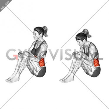 Abdominal Stretch (female)
