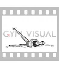Lying Leg raise (female)