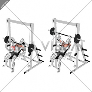 Smith Incline Bench Press