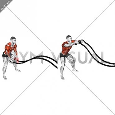 Battling Ropes Power Slam