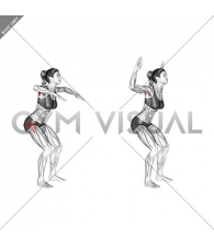 Standing W-raise (female)