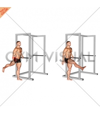Back Forward Leg Swings (male)