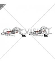 Single Leg Sliding Floor Bridge Curl on Towel