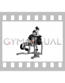 Lever Kneeling Leg Curl (plate loaded) (female)