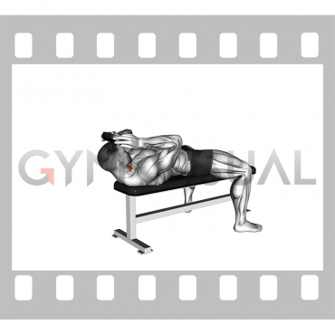 Weighted Lying Neck Flexion