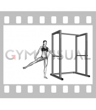 Side to Side Leg Swings (female)