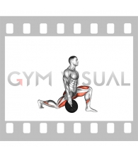 Weighted Stretch Lunge