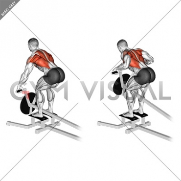 Lever T bar Row (plate loaded)