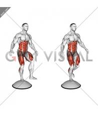 Single Leg Stand on Bosu Ball