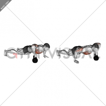 Kettlebell Plyo Push-up