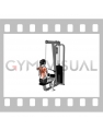 Cable Close Grip Front Lat Pulldown (female)