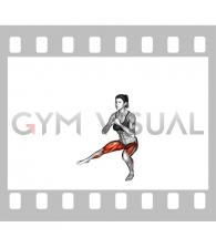 Side Lunge Stretch (female)