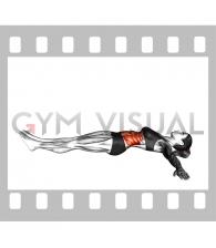 Lying Lower Back Stretch (female)