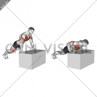 Incline Push-Up (on box)