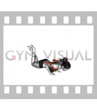 Close grip Push-up (on knees) (female)