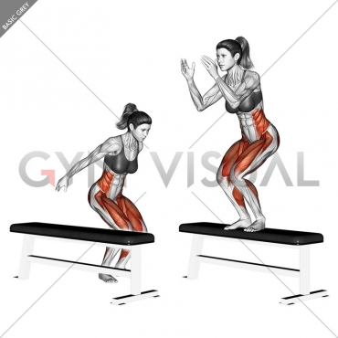 Lateral Twist box Jump