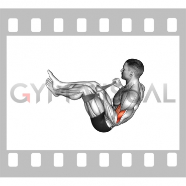 Two Legs Reverse Biceps Curl with Towel (VERSION 2)