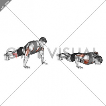 Weighted Push-up with Vest