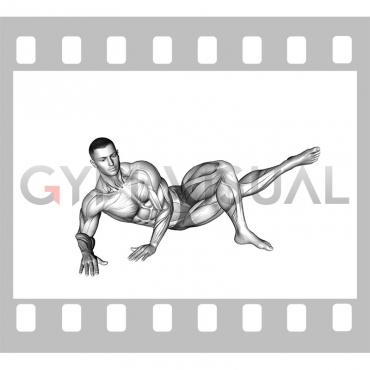 Side Lying Hip Adduction (male)