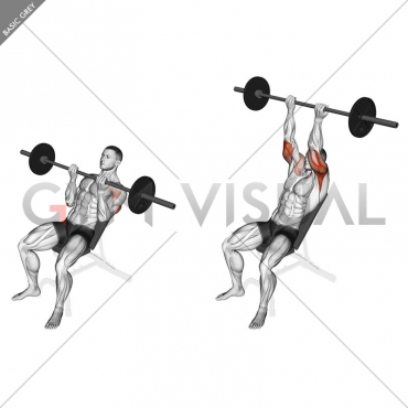 Barbell Incline Reverse-grip Press