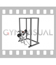 Band bent-over rear lateral raise (female)