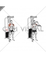 Cable Standing Front Raise Variation