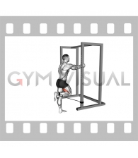 Band Standing Leg Curl (male)