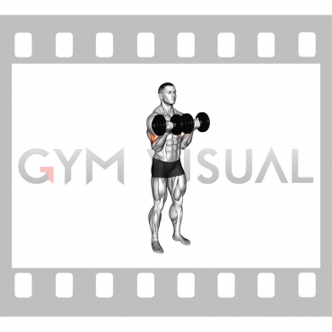 Dumbbell Close-Grip Curl
