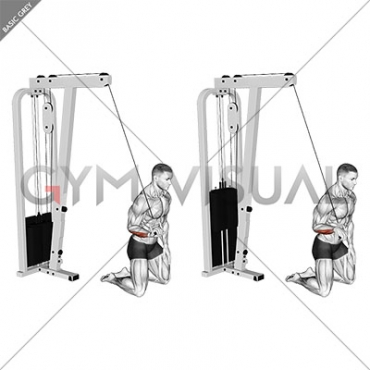 Cable One Arm Wrist Curl