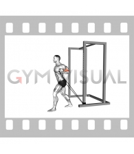 Band 45 degrees Biceps Curl (male)
