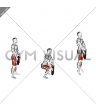 Weighted Squat Jump with Plate