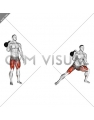 Kettlebell Lateral Lunge