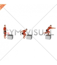 2 to 1 Jump Box (male)