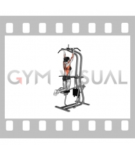 Assisted Close-grip Underhand Chin-up (female)