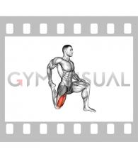 Quadriceps stretch (male)