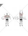 Bodyweight Standing Military Press