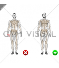 Standing Pose (WRONG-RIGHT) Front POV