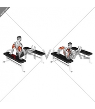 Bench Dip with legs on bench